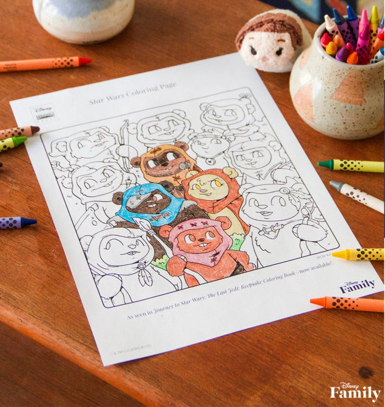 Disney - Ewok Coloring Page