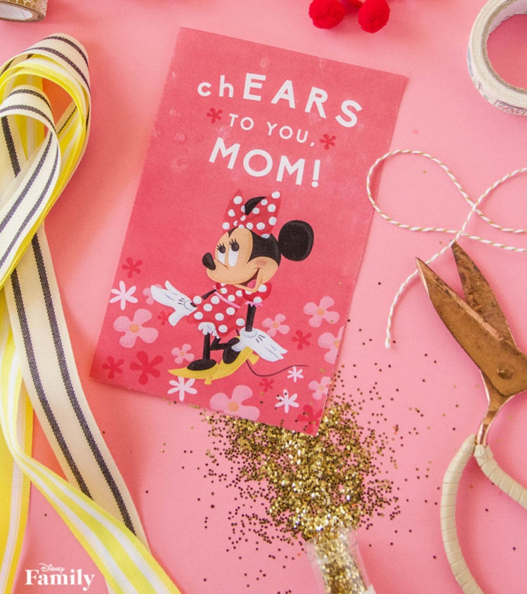 Disney - Minnie Mother's Day Card