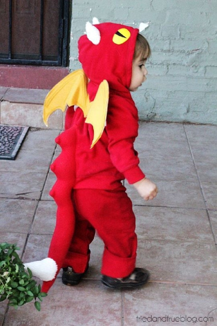 Easy and Creative Halloween Costume Ideas for Kids Better Than Buying - Dragon