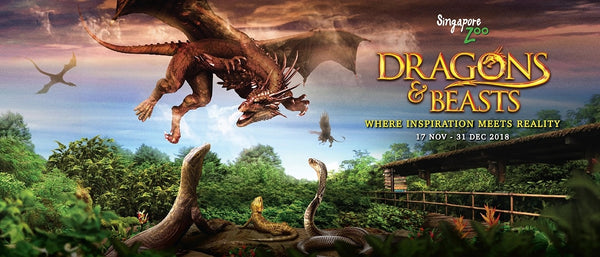 Mingle with Dragons and Beasts at the Singapore Zoo!