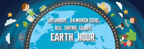 Things to do this Weekend: Observe Earth Hour with Your Little Ones @ SAFRA!