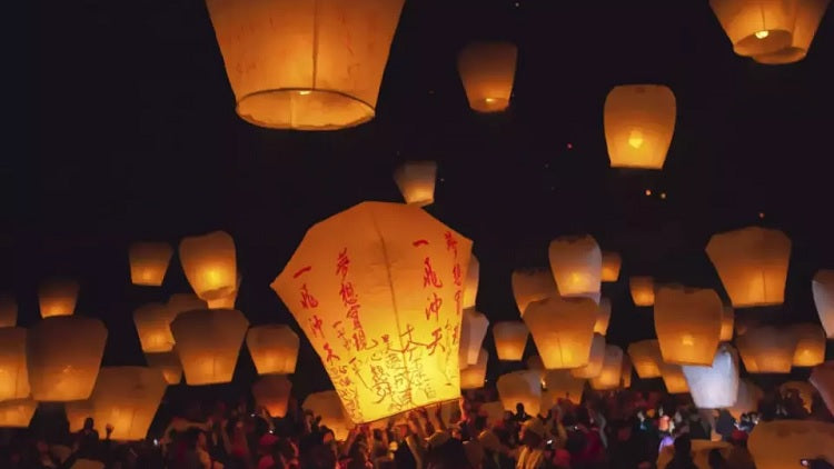 Eco-Friendly Sky Lantern Releasing Virtual Tour From Taiwan Pingxi