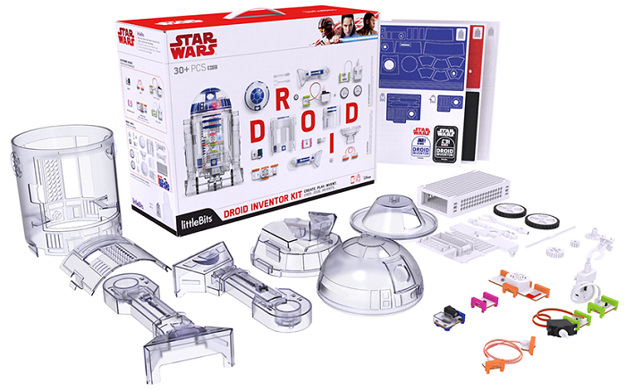 Get Hacking - littleBits Droid Inventor Kit