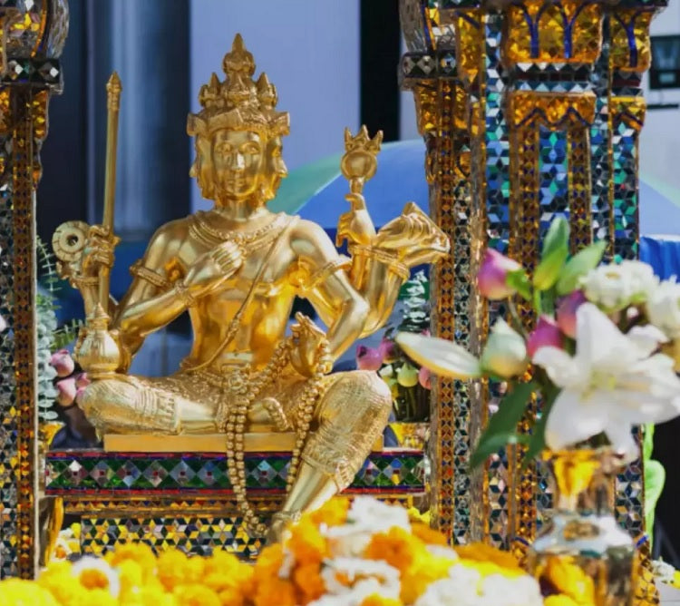 Erawan Shrine Four-Faced Buddha Virtual Tour From Bangkok