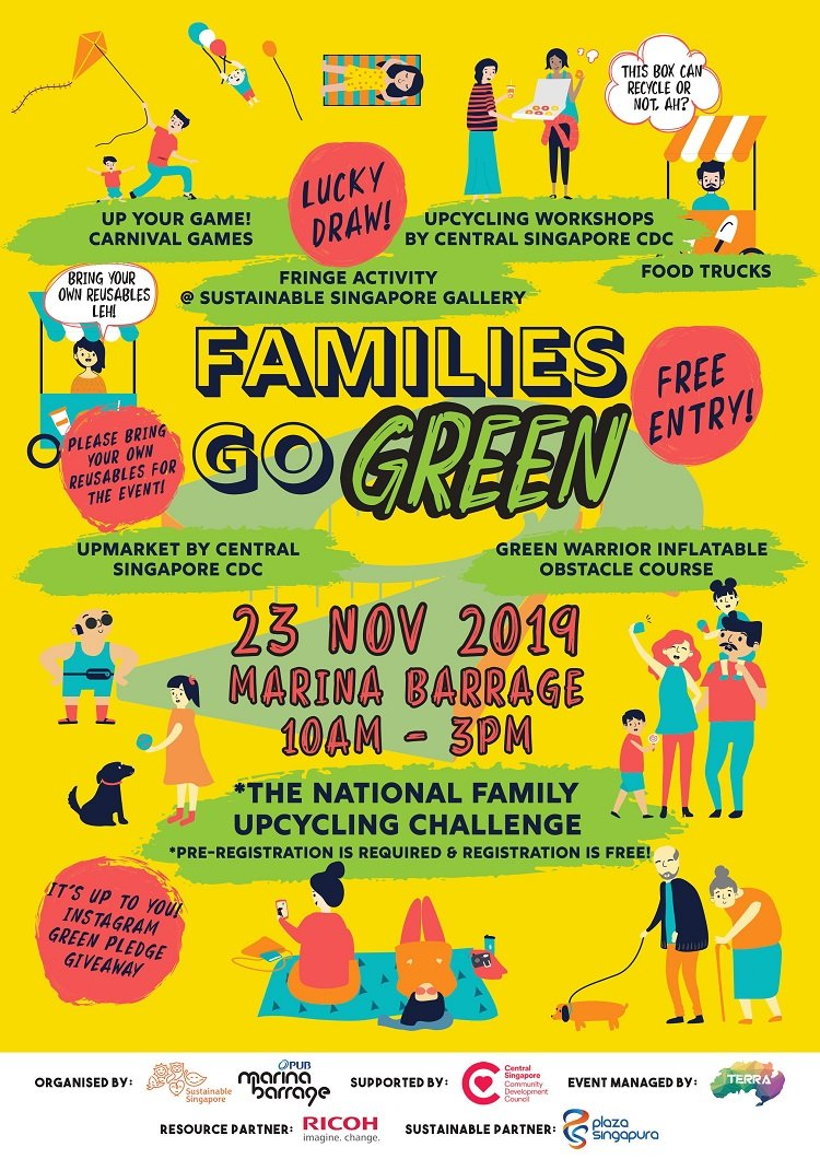 Go Green as a Family at Families Go Green!