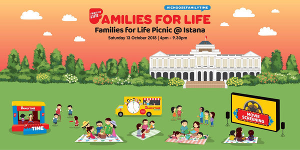 Bond with Your Family at Families for Life Picnic @ Istana!