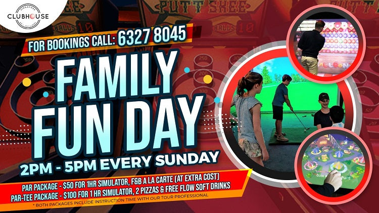 Family Fun Day at Clubhouse