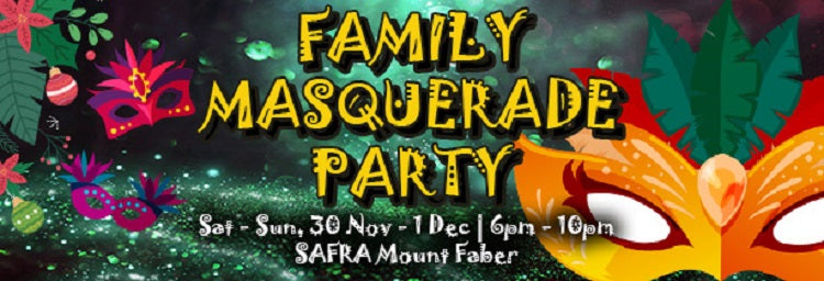 Family Masquerade Party | SAFRA Mount Faber