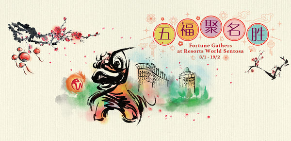 Ring in a prosperous Year of the Boar at Resorts World Sentosa's Fortune Gathers