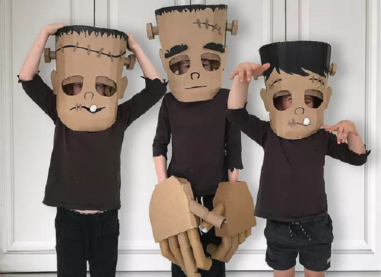 Easy and Creative Halloween Costume Ideas for Kids Better Than Buying - Frankenstein