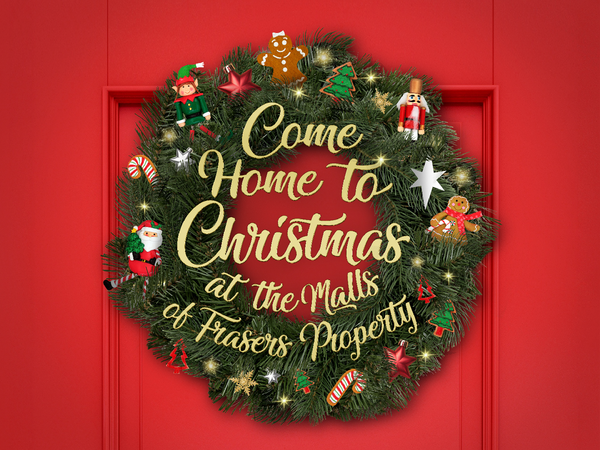 Christmas Celebrations at Frasers Property Malls