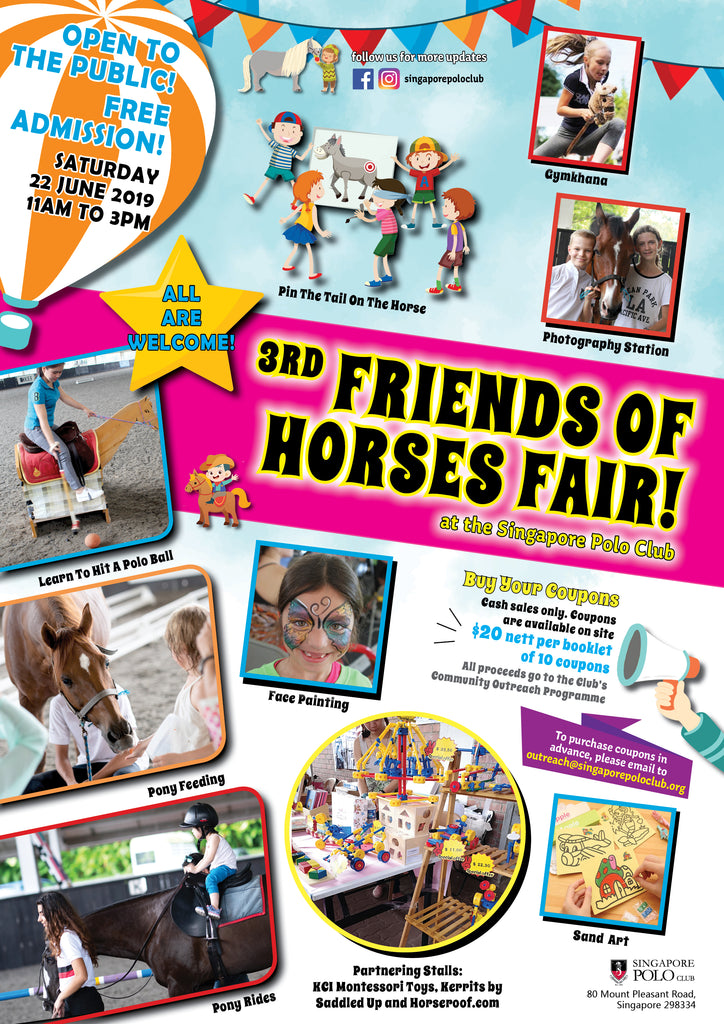 Engage in Fun & Games at The Friends of Horses Fair with Your Little Ones!