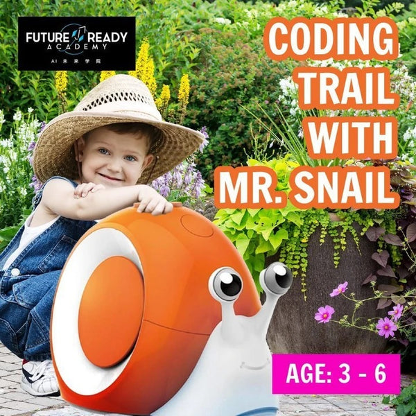 Future Ready Academy S.T.E.A.M Holiday Camp: Coding Trail with Mr. Snail