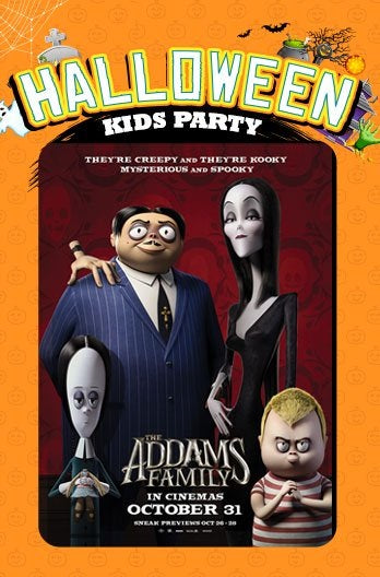 Halloween Kids Party: The Addams Family at GV VivoCity