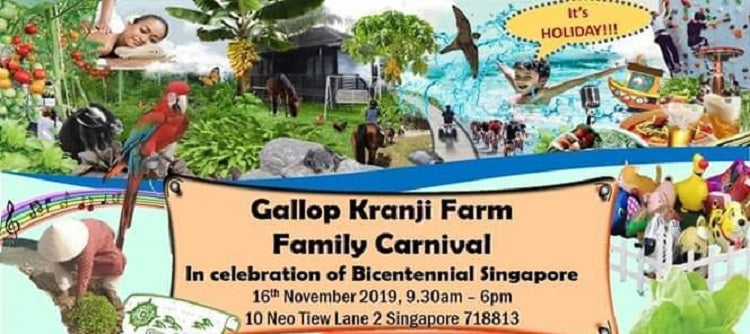 Year-End Holidays 2019 - Gallop Kranji Family Farm Carnival