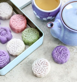 Garden Treats: Mid-Autumn Special: Snowskin Mooncakes (A Culinary Workshop)