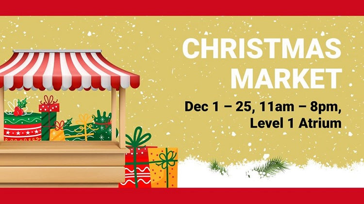 Christmas 2019 Markets, Bazaars and Fairs in Singapore - Great World City Christmas Fair