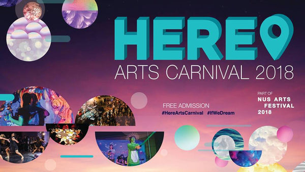 Join in the HERE! Arts Carnival 2018 with Your Little Ones!