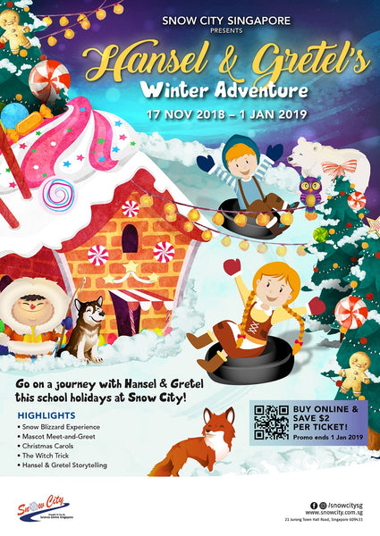 Join Hansel & Gretel's Winter Adventure at Snow City!