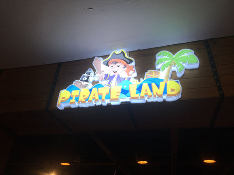 BYKidO Moments: Ahoy! Mummy C and Baby Z Venture into Pirate Land! - Signboard