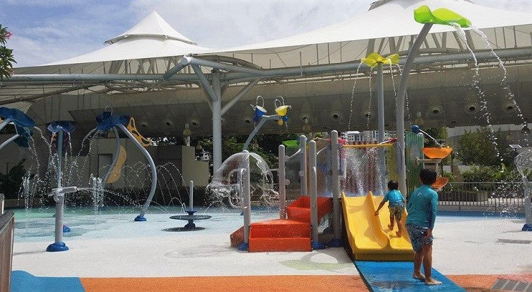 IMM | Dry Play Area + Wet Play Area