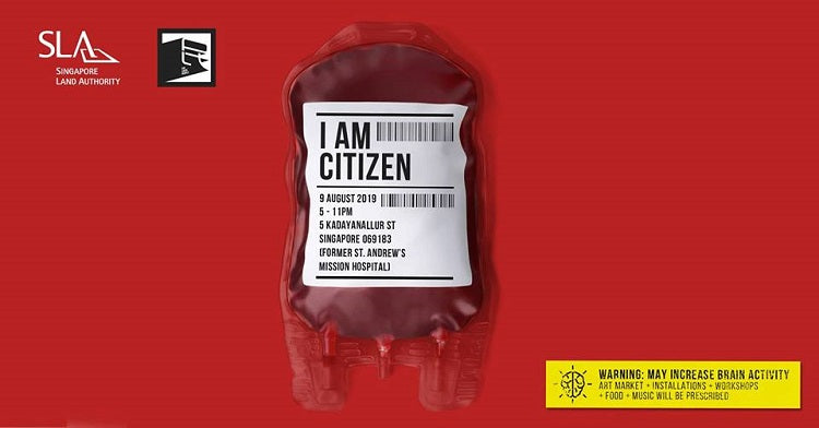 I AM CITIZEN by The Local People X Singapore Land Authority