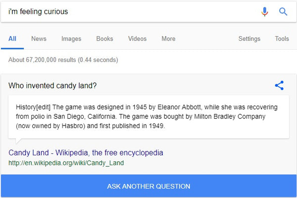 7 Google Search Games to Amuse Your Little Ones - I'm feeling curious