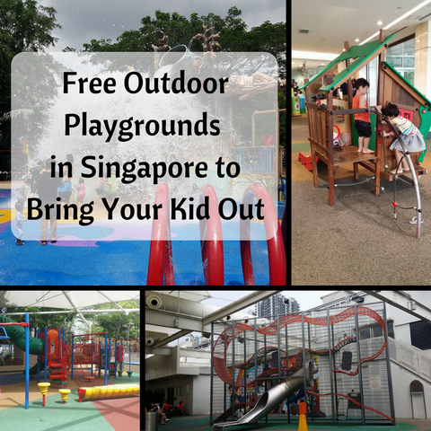 Free Outdoor Playgrounds in Singapore to Bring Your Kid Out