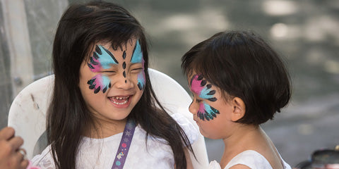 Things to do this Weekend: Blue-Zilian Carnival - Face Painting