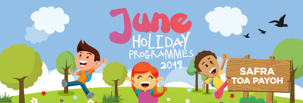June Holiday Programme at SAFRA Toa Payoh