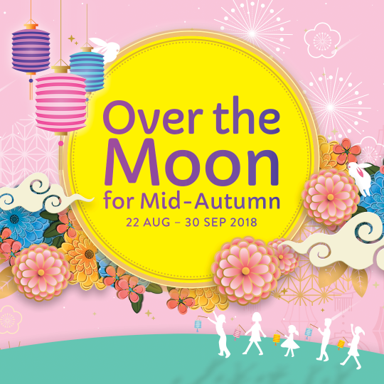 Over the Moon for Mid-Autumn at Jurong Point!