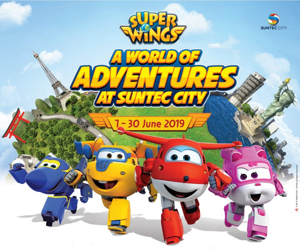 Super Wings @ Suntec City, Meet & Greet
