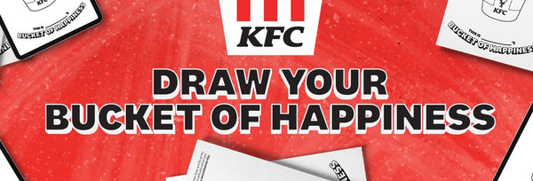 KFC Singapore Celebrates Children's Day with 'Draw Your Bucket of Happiness' Drawing Contest