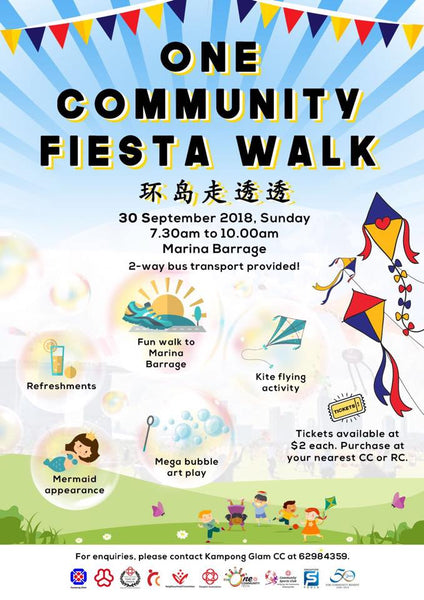 Take Part in the One Community Fiesta Walk with Your Little Ones!