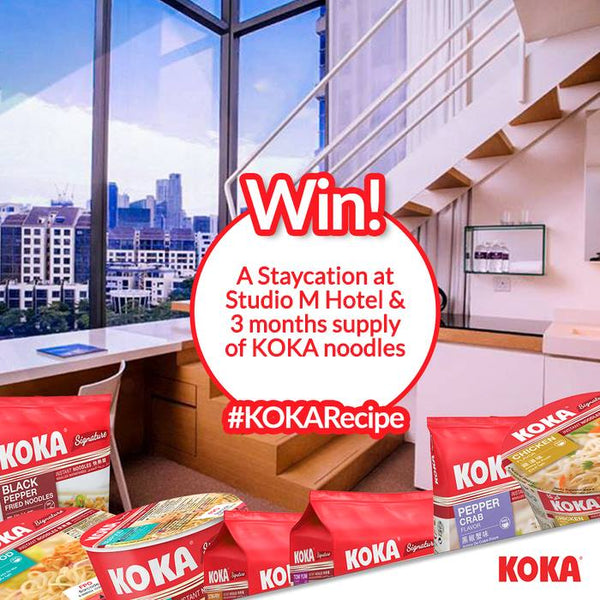 Koka Noodles Giveaways