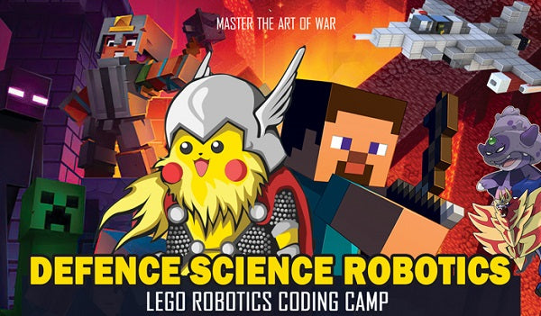 Lego Robotics and Scratch Coding Camps by WondersWork