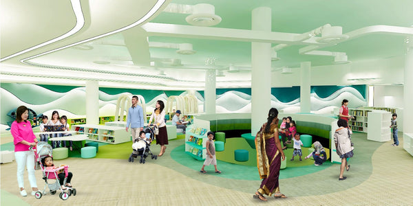 Visit the Newly Opened library@harbourfront with Your Little Ones!