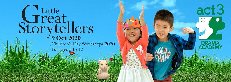 Little Great Storytellers: Children's Day Workshops