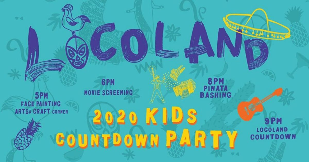 Locoland 2020: New Year Countdown Party for the Kiddies