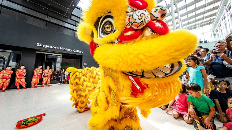 Lunar New Year Celebrations at National Museum of Singapore