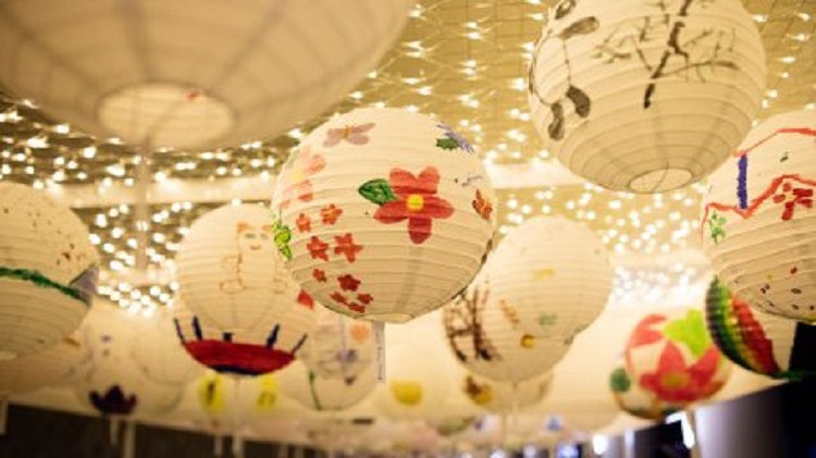Paint Lanterns for the Mid-Autumn Festival with Your Tots!