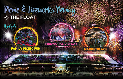 Things to do this Weekend: Countdown to 2018 at Marina Bay with Your LOs! - Picnic & Fireworks