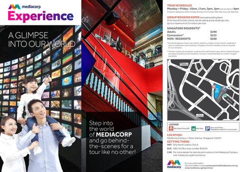 MediaCorp Experience Brochure