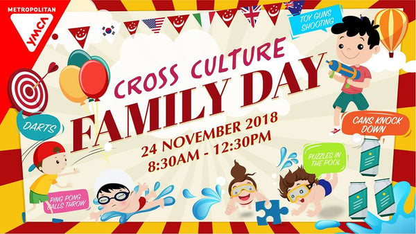 Bond with Your Little Ones at MYMCA Cross Culture Family Day 2018!