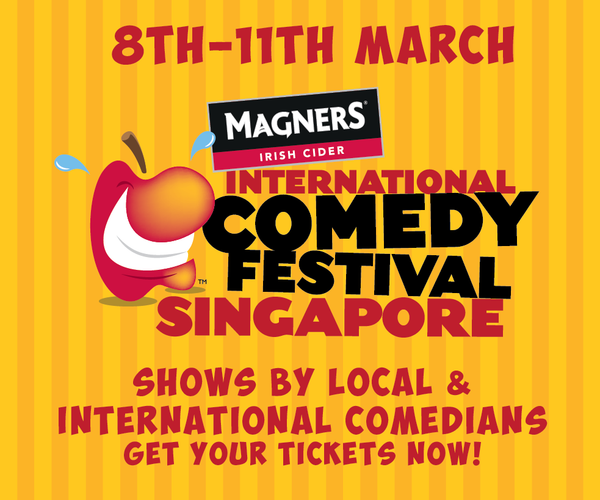 Things to do this Weekend: Be Part of the Singapore Festival of Fun 2018 with Your LOs @ Clarke Quay! - Comedy Fest