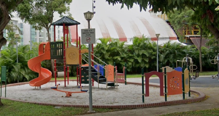 Free Outdoor Playgrounds in the East - Mariam Walk Playground