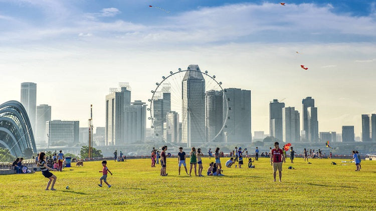 Best Places to Catch New Year's Fireworks for Free - Marina Barrage