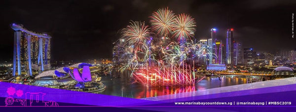 Usher in a New Year with Marina Bay Singapore Countdown 2019!