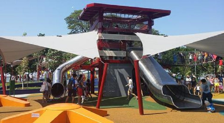 Inclusive Playgrounds in Singapore - Marine Cove