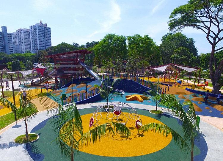 Free Outdoor Playgrounds in the East - Marine Cove Playground
